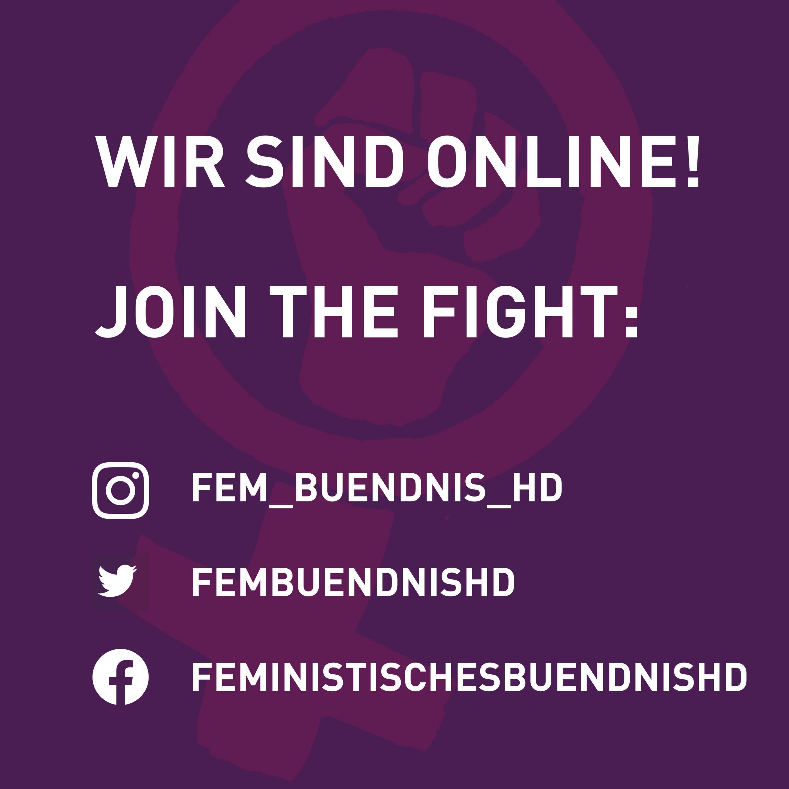 Feministisches Bündnis Heidelberg geht online
